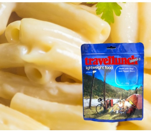 Aliment Travellunch paste in sos de cascaval