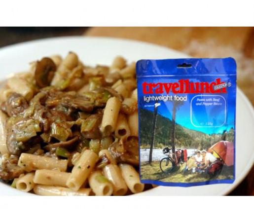 Aliment Travellunch paste cu ciuperci de padure