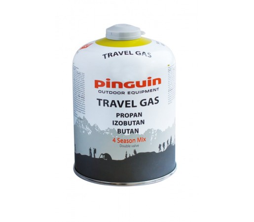 Butelie Pinguin Travel Gas 450g