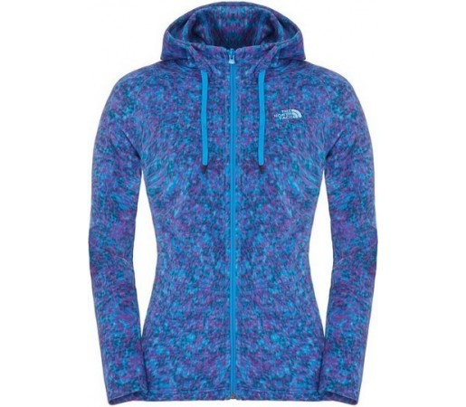 Polar The North Face W Mezzaluna Novelty Hoodie Albastru