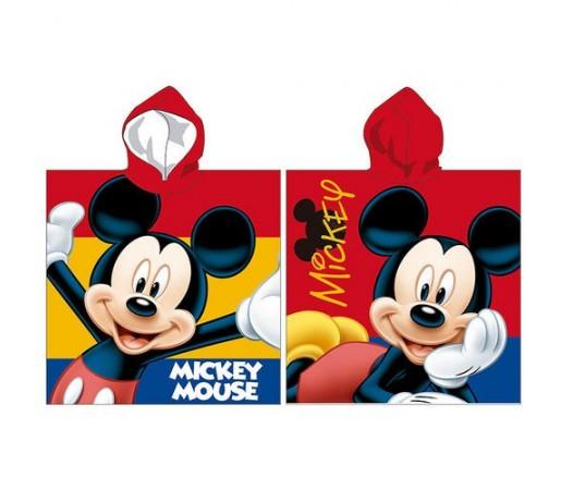 Poncho Disney Mickey Joyful Rosu/ Albastru/ Galben