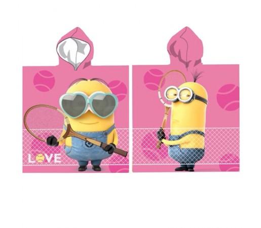 Poncho Pixar Minions Tennis Love Roz