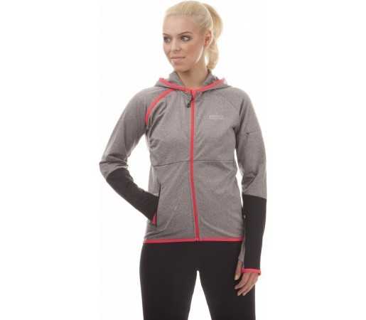 Jacheta Nordblanc Smart Ladie's Powerfleece Running Gri