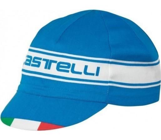 Sapca ciclism Castelli Prologo 3 Cap Albastra
