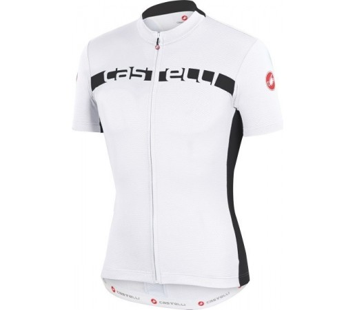 Tricou ciclism Castelli Prologo 4 Alb