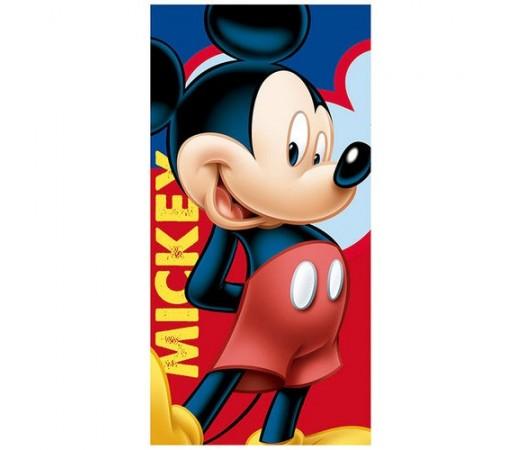 Prosop plaja Disney Mickey Joyful Albastru/ Rosu