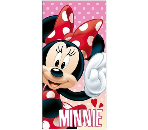 Prosop plaja Disney Minnie Lovely Roz