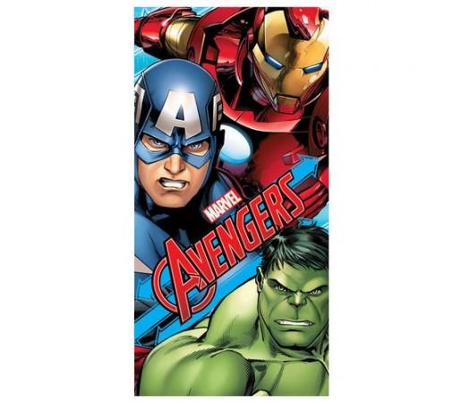 Prosop plaja Marvel Avengers Verde/ Albastru/ Rosu
