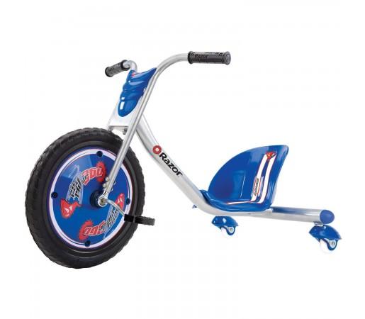 Tricicleta Razor RipRider 360 Albastra/Argintie