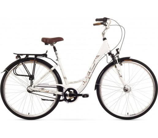 Bicicleta oras Romet Art Deco 3 Alb