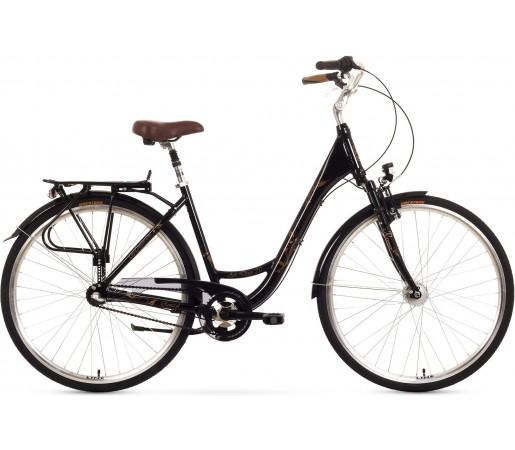 Bicicleta oras Romet Art Deco 3 Negru