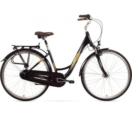 Bicicleta oras Romet Art Deco 7 Negru