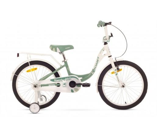 Bicicleta de copii Romet DIANA 20 Alb-Verde 2015