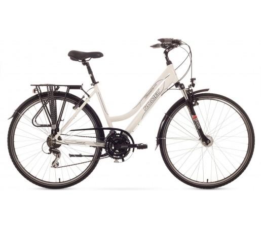 Bicleta de trekking Romet GAZELA 2.0 Alb 2015