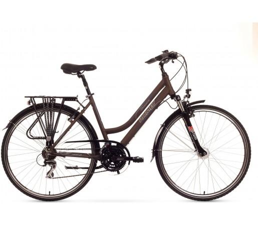 Bicicleta trekking Romet Gazela 2.0 Maro