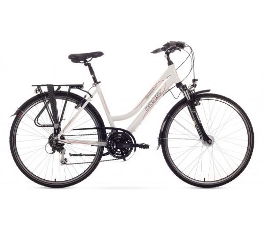 Bicicleta trekking Romet Gazela 3.0 Alb