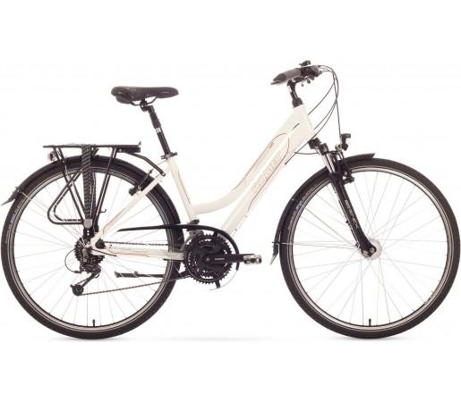 Bicicleta trekking Romet Gazela 4.0 Alb