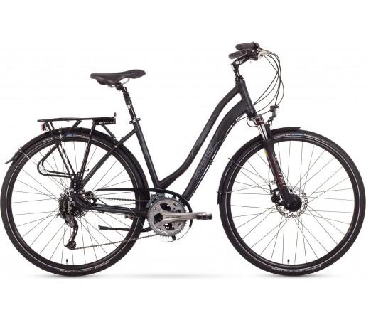 Bicicleta trekking Romet Gazela 5.0 Negru