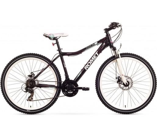 Bicicleta de munte Romet Jolene 26 2.0 Negru/Roz