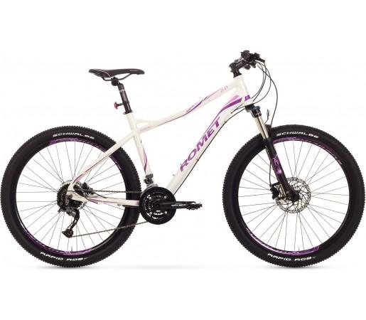 Bicicleta de munte Romet Jolene 27.5 2.0 Alb/Roz