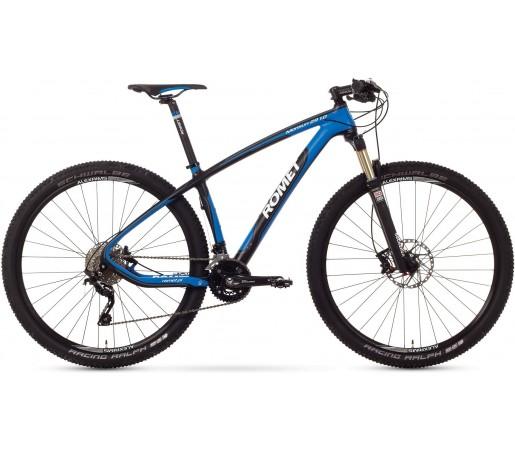 Bicicleta de munte Romet Monsun 29 1.0 Negru\Albastru