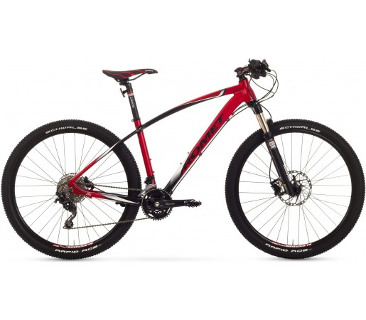 Bicicleta de munte Romet Mustang 27.5 2.0 Rosu/Negru