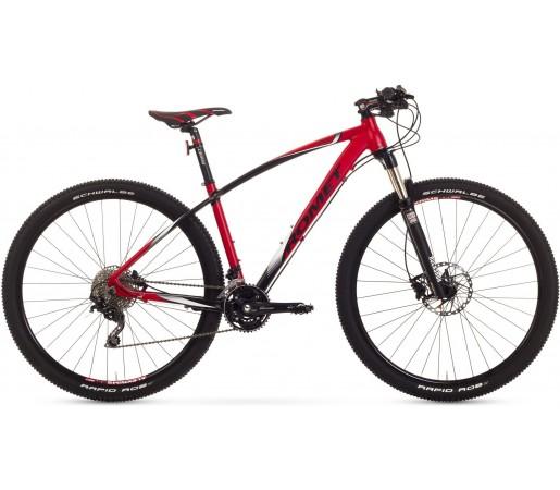 Bicicleta de munte Romet Mustang 29 2.0 Rosu/Negru