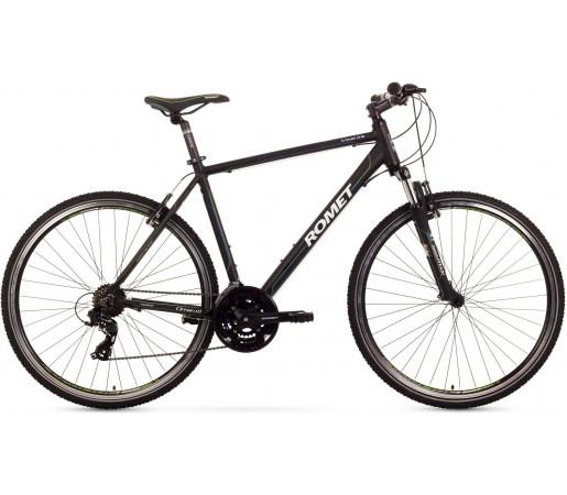 Bicicleta trekking Romet Orkan 1.0 M Negru