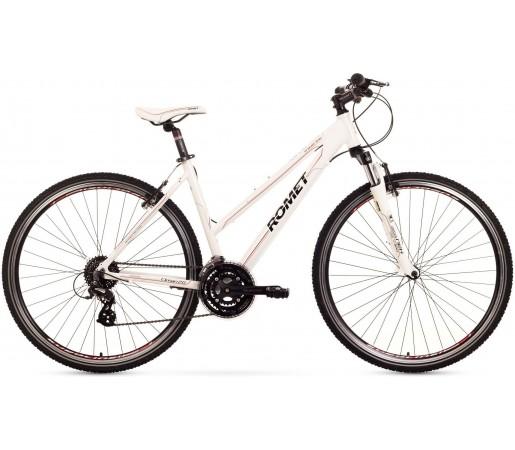 Bicicleta trekking Romet Orkan 2.0 D Alb