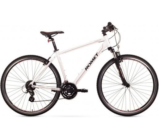 Bicicleta trekking Romet Orkan 2.0 M Alb