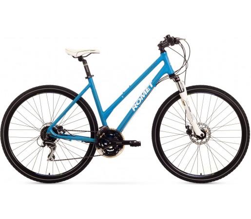 Bicicleta trekking Romet Orkan 3.0 D Albastru