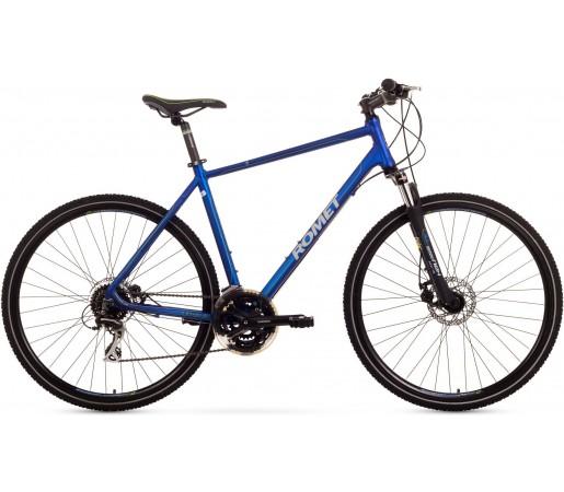 Bicicleta trekking Romet Orkan 3.0 M Albastru