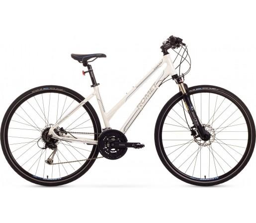 Bicicleta trekking Romet Orkan 4.0 D Alb
