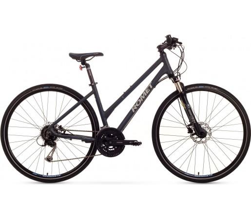 Bicicleta trekking Romet Orkan 4.0 D Gri