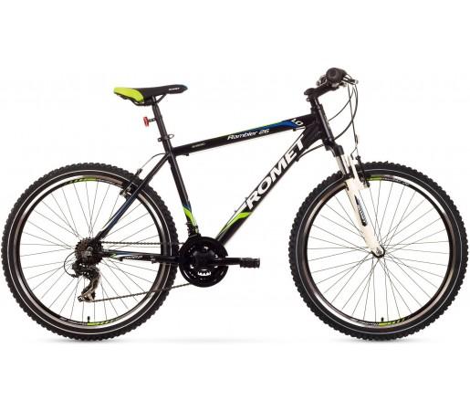 Bicicleta de munte Romet Rambler 26 1.0 Negru/Verde/Albastru