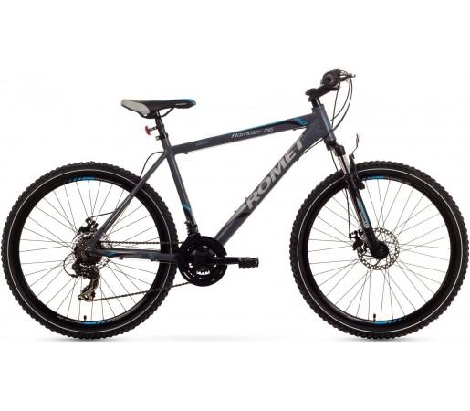 Bicicleta de munte Romet Rambler 26 2.0 Grafit/Albastru