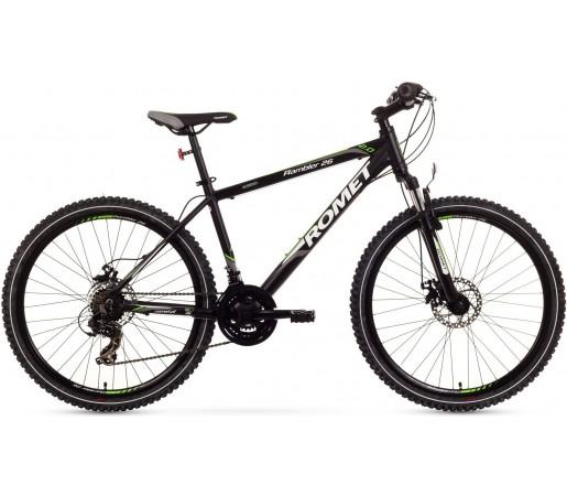 Bicicleta de munte Romet Rambler 26 2.0 Negru/Verde