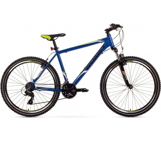 Bicicleta de munte Romet Rambler 26 3.0 Albastru/Verde