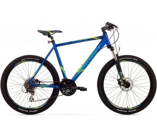 Bicicleta de munte Romet Rambler 26 4.0 Negru/Albastru/Verde
