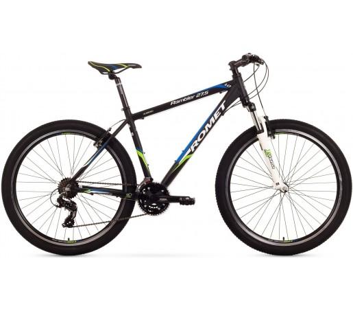 Bicicleta de munte Romet RAMBLER 27.5 1.0 Negru/Verde/Albastru 2015