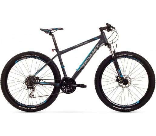 Bicicleta de munte Romet Rambler 27.5 2.0 Grafit/Albastru
