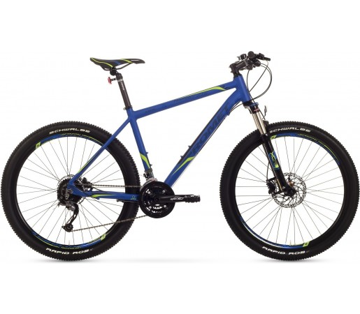 Bicicleta de munte Romet Rambler 27.5 3.0 Albastru/Verde