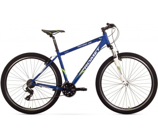 Bicicleta de munte Romet RAMBLER 29 1.0 Albastru-Verde 2015