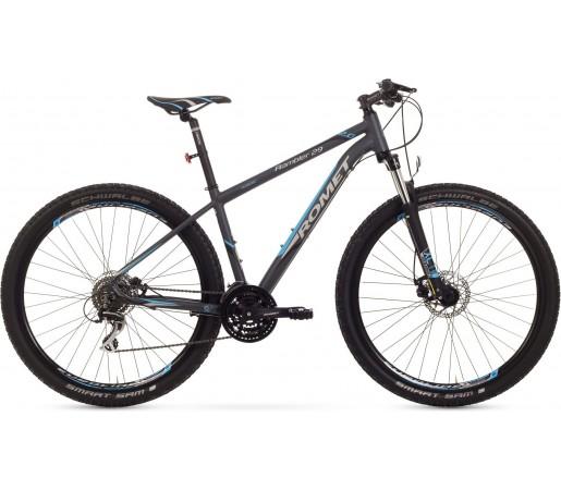 Bicicleta de munte Romet Rambler 29 2.0 Grafit/Albastru