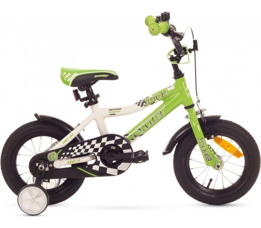 Bicicleta de copii Romet SALTO 12 Verde-Alb 2015