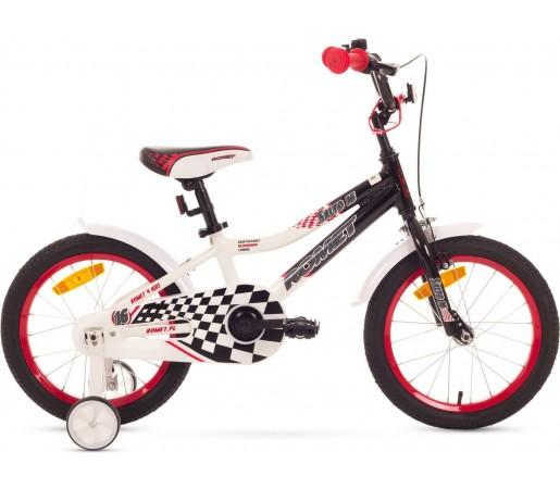 Bicicleta de copii Romet SALTO G 16 Negru-Alb 2015