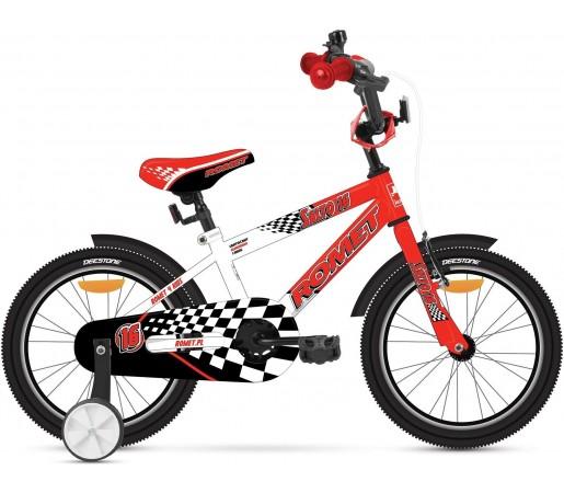 Bicicleta copii Romet SALTO G 16 Rosu-Alb 2015