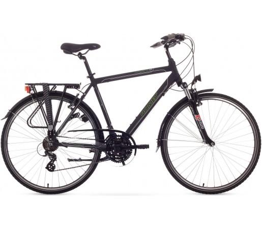 Bicicleta trekking Romet Wagnat 1.0 Negru