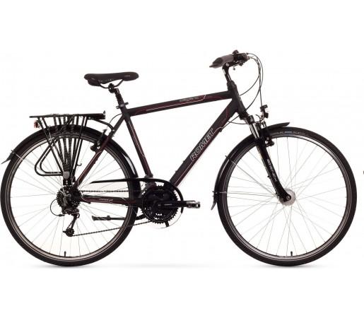 Bicicleta trekking Romet Wagnat 4.0 Negru