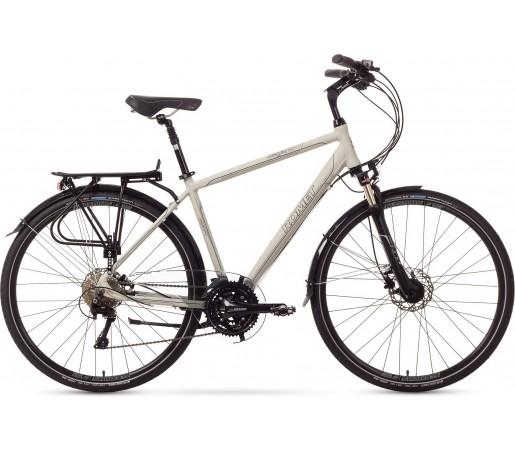 Bicicleta trekking Romet Wagnat 6.0 Alb